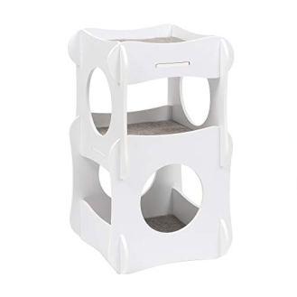 VESPER-Condo-Tower-Cat-Tree-White-52113