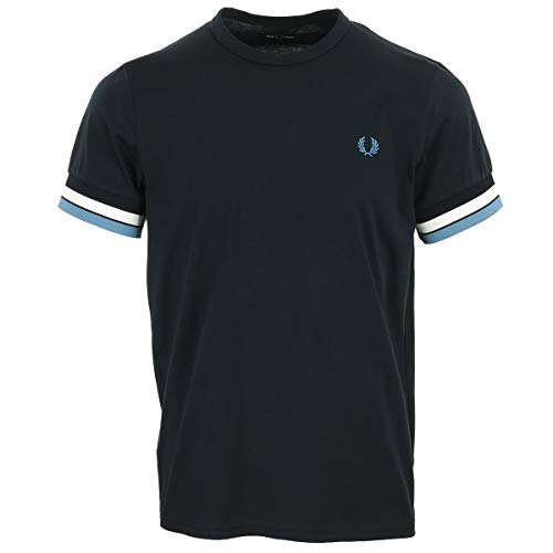 Fred Perry Bold Tipped T-Shirt, Maglietta - L