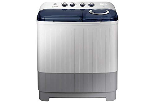 Samsung 7.5 kg Semi-Automatic Top Loading Washing Machine (WT75M3200HB/TL, Light Grey, Air turbo...