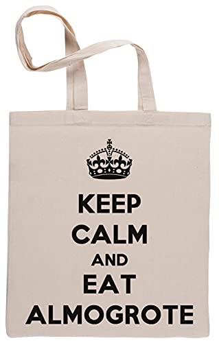 Keep Calm and Eat Almogrote Bolsa De Compras Shopping Bag Be