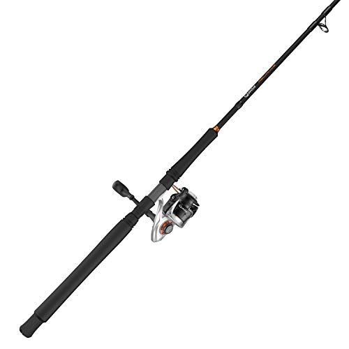 Quantum PT Reliance Spinning Reel and Fishing Rod Combo, Graphite Rod, Saltwater or Freshwater Ready with Fully Sealed Fishing Reel, Multi, One Size (RELB55701M.NS2)