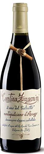 ZACCAGNINI Vino Rosso MONTEPULCIANO D'ABRUZZO TRALCETTO BOTT 75 CL - IMBALLO DA 6 BOTTIGLIE DA 75 CL