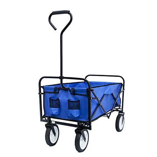 Collapsible Outdoor Utility Wagon, Folding Wagon Garden...