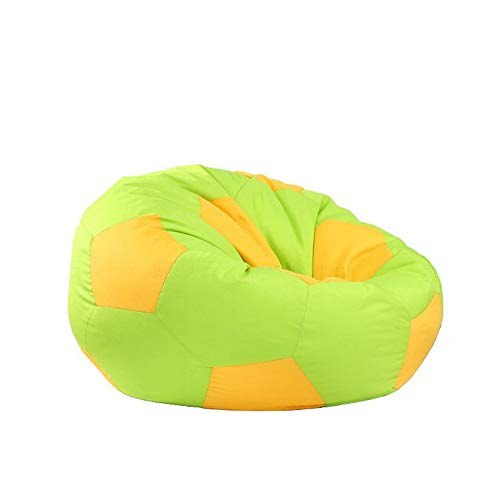 Pallone da Calcio Lazy Sofa Big Joe Bean Bag Chair - Tempo Libero Divani (Colore : Verde, Dimensione...