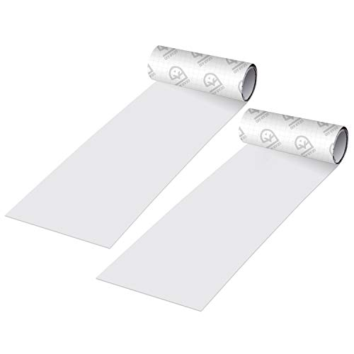 GEAR AID Tenacious Tape Ripstop Repair Tape for Fabric and Vinyl, 3 x 20, Off-White, 2 Pack, Clear, Model:10646