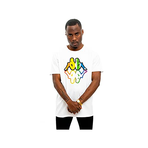 Kappa TURMAN T-Shirt, Bianco, S Uomo