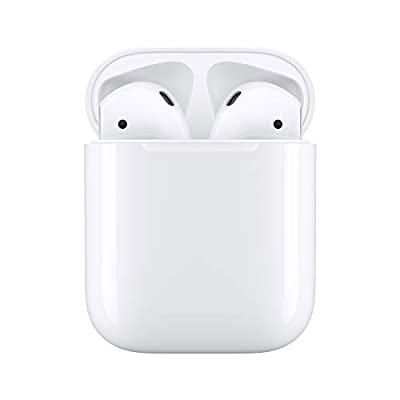 "Automatically on, automatically connected Easy setup for all your Apple devices Quick access to Siri by saying ""Hey Siri"" Double-tap to play or skip forward New Apple H1 headphone chip delivers faster wireless connection to your devices"