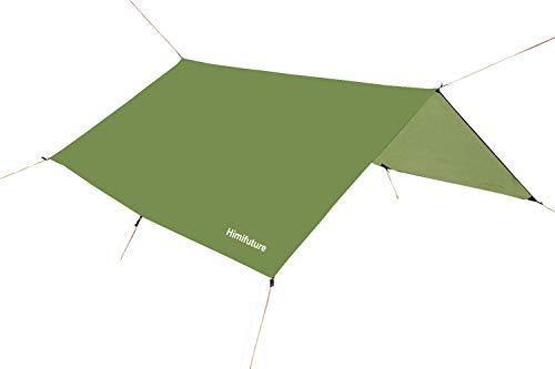 Abdeckplane / Regen-Abdeckung, 3 x 3 m, wasserdicht, RipStop, für Hängematten, Camping, Wandern, Outdoor, Reisen