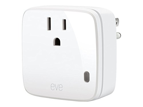 Elgato Eve Energy - Switch & Power Meter with Apple HomeKit technology, Bluetooth Low Energy