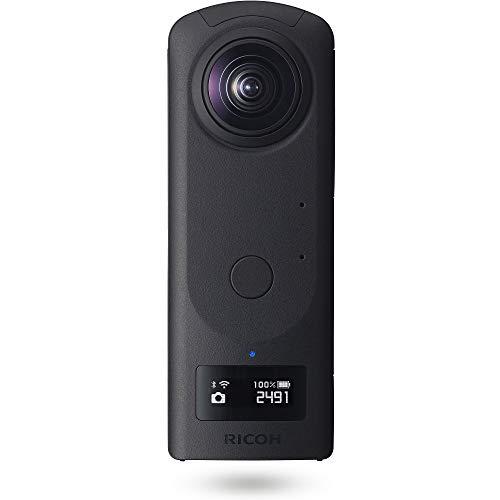 RICOH THETA Z1 51GB ブラック 360度カメラ 【THETAシリーズのフラッグシップモデル】【1.0型裏面照射型CMOSセンサー搭載】【内蔵メモリー51GB】【23MP高解像静止画】【手ブレ補正機能搭載 4K動画】【HDR合成】【高速無線転送】ビジネスシーンで大活躍 910831