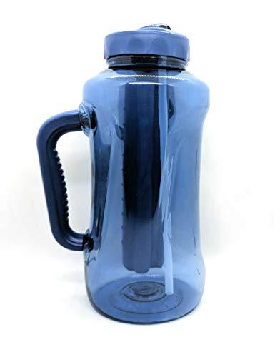 COOL GEAR 64oz Freeze Core Water Bottle (Blue)