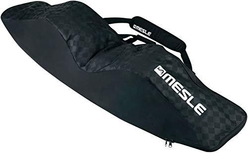 MESLE Wake- und Kiteboardtasche Padded, bis 146 cm Boardlänge mit Bindung, gepolstert, Wakeboard-Tasche Kite-Board Bag, schwarz