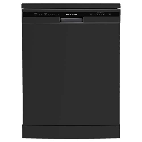 Faber 12 Place Settings Dishwasher (FFSD 6PR 12S, Neo Black, Best suited for Indian Kitchen, Hygiene...