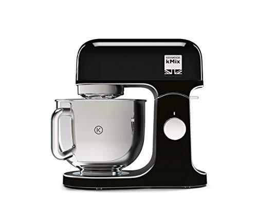Kenwood KMX750AB Impastatrice Planetaria Kitchen Machine kMix, Robot da Cucina Mixer, 1000 W, 5 Litri, Acciaio,...