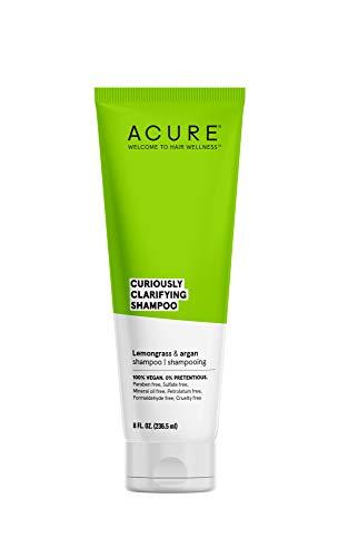 ACURE Curiously Clarifying Shampoo, Lemongrass &...