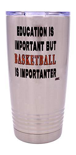 Funny Basketball PLayer 20 Oz. Travel Tumbler Mug Cup w/Lid...