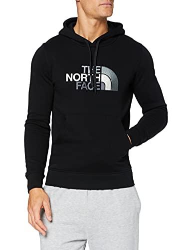 The North Face M Drew Peak Plv HD, Felpa con Cappuccio Uomo, Nero (TNF Black), M