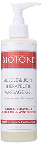 Biotone Muscle and Joint Therapeutic Massage Gel, 8.0 Fluid Ounce
