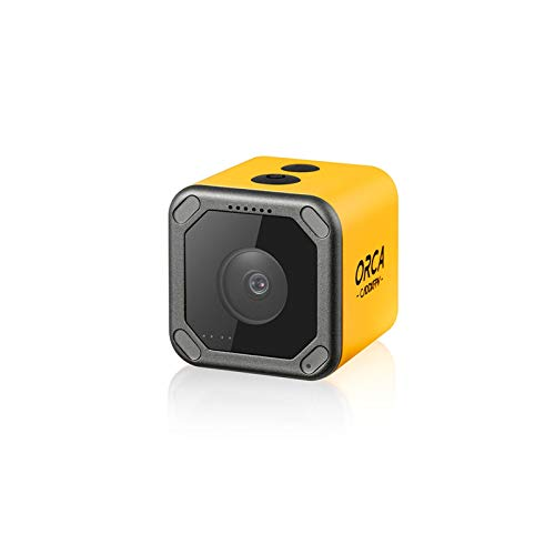 SoloGood Caddx Orca 4K FPV Camera WiFi Anti-Shake fov 160 Degree DVR Action Cam HD Recording for RC Racing Drone Airplane …