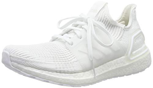 adidas Ultraboost 19 M, Zapatillas de Running para Hombre, Blanco (FTWR White/FTWR White/Core Black FTWR White/FTWR White/Core Black), 46 EU
