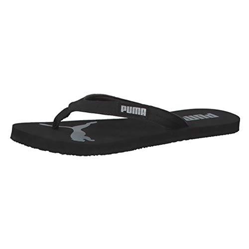 Puma Cozy Flip Wns Zapatos de playa y piscina Mujer, (Puma Black-Puma Silver 03), 42 EU (8 UK)