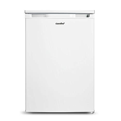 COMFEE' RCD100WH2 (E) Mini Frigorifero mono porta 98L, Cella congelatore, Silenzioso, Sicuro, Colore Bianco