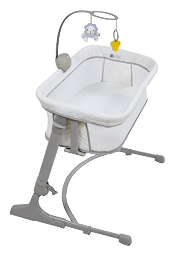Arm's Reach Concepts The Versatile Co-Sleeper, White/Grey, One Size
