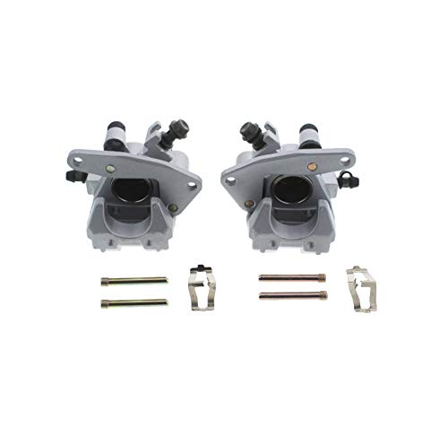Race Driven Front Left & Right Brake Calipers for Honda TRX250EX 250EX TRX300EX 300EX TRX400EX 400EX 250 300 400X