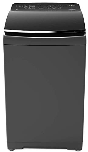 Whirlpool 9.5 kg Fully-Automatic Top Loading Washing Machine (360° BLOOMWASH PRO 9.5, Graphite)