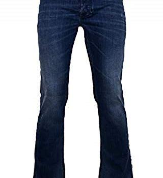 Diesel Herren Straight Jeans Zatiny Blau