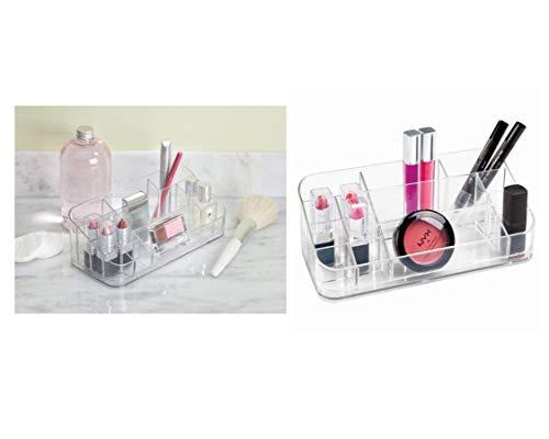 InterDesign Organizador de Maquillaje, Transparente