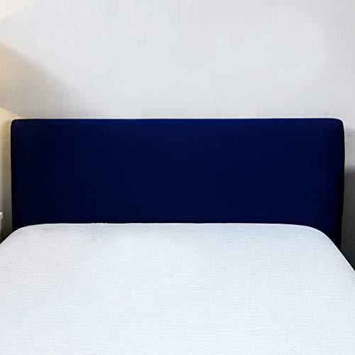 Copertura per testiera per letto, protezione elastica a tinta unita, decorazione per camera da...
