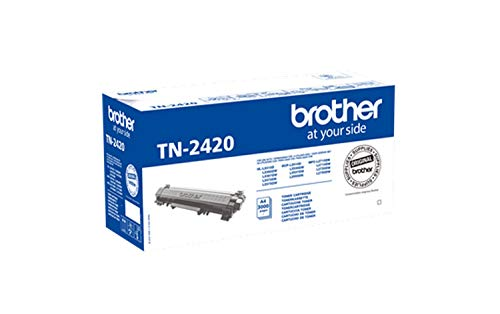 Brother TN2420 Toner Originale, Alta Capacit, fino a 3000 Pagine, per Stampanti...