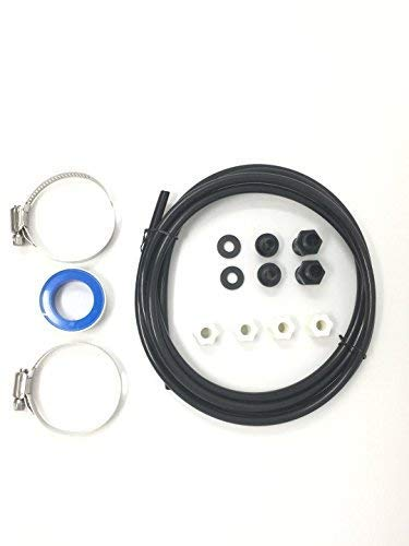 Southeastern Swimming Pool Offline Chlorinator Hose Tubing Connection Kit w/Saddle Connectors Clamps