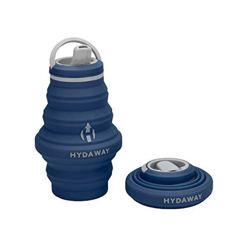HYDAWAY Collapsible Water Bottle, 17 oz Spout Lid