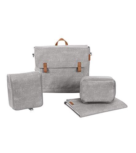 Maxi Cosi Modern Bagpraktische Wickeltasche mit vielen extras, Thermobox, Wickelunterlage, Thermobox, Kulturtasche, Baby-Tasche, Windel-Tasche, nomad grey