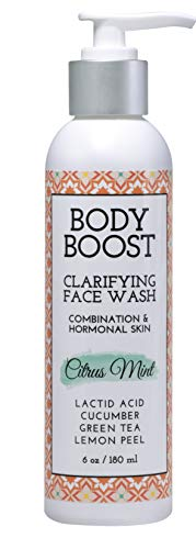 Body Boost Daily Clarifying Face Wash, 6 oz Citrus Mint