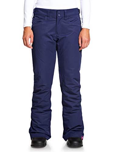 Roxy Backyard Pantaloni da Snowboard, Donna, Medieval Blue, L