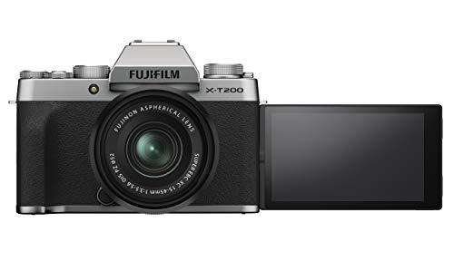Fujifilm X-T200 XC 15-45mm F3.5-5.6 (Silver Argent)