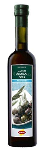 Wiberg Natives Oliven-Öl Peloponnes, 1er Pack (1 x 500 ml)