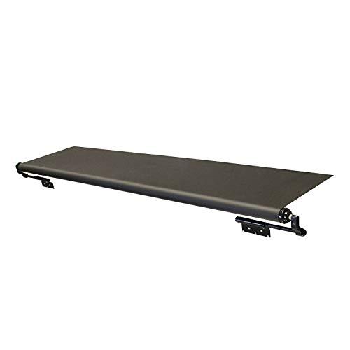Solera V000165063 Black Slide Topper Awning - 6'6' (6'1' Fabric)
