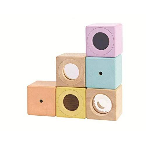 PlanToys Wooden Sensory Blocks Early Learning & Development...