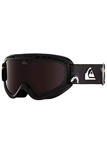 Quiksilver EQBTG03012 - Maschera da Sci/Snowboard da Ragazzo, Black Snow Party, Taglia Unica