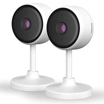 [New2021] WiFi Camera 2PCS Littlelf Security Camera, 1080P Indoor...