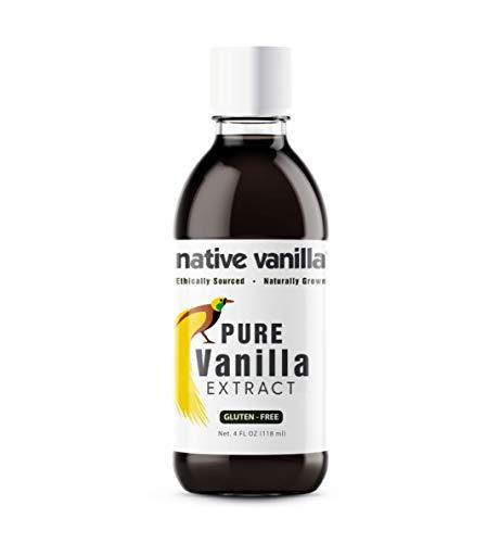 Extracto de vainilla pura - 118ml (4 oz) - Hecho de vainas d