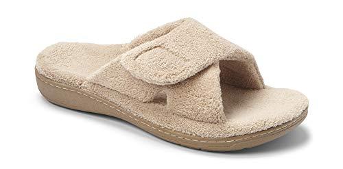 Vionic Women's Relax Slipper, Tan, 5 M US