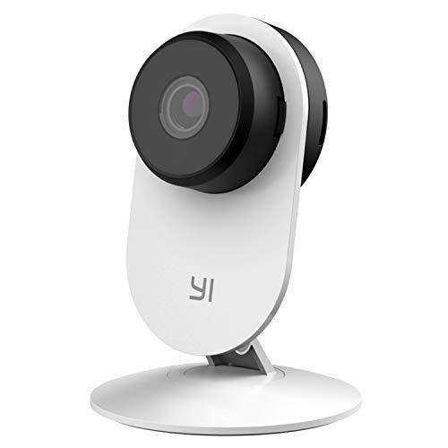 YI Home Camera 3,Videocamera Soverglianza Interno,Smart Camera Wifi 1080p con Funzione Intelligente Rilevamento Umano,Notifiche Push Tempo Reale,IR Visione Notturna,Audio-bidirezionale per Bambini