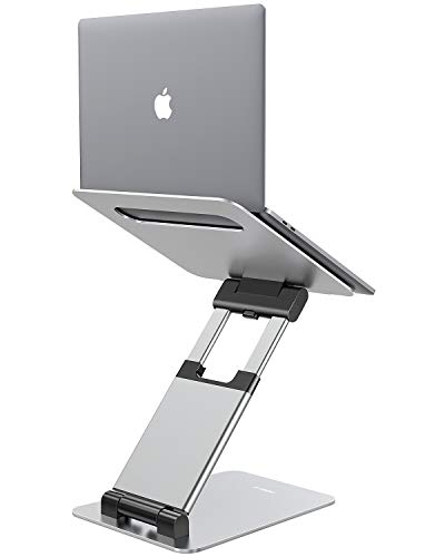 Nulaxy Laptop Stand, Ergonomic Sit to Stand Laptop Holder Convertor,...
