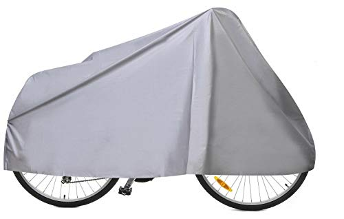 HOLME'S Water Resistant Bicycle Cover for Atlas Peak Cliffhanger 26 Inches 21 Speed Cycle (Silver)