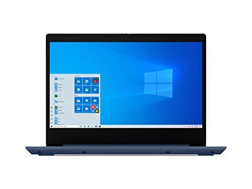 Lenovo IdeaPad 3 14' Laptop, 14.0' FHD 1920 x 1080 Display, AMD Ryzen 5 3500U Processor, 8GB DDR4 RAM, 256GB SSD, AMD Radeon Vega 8 Graphics, Narrow Bezel, Windows 10, 81W0003QUS, Abyss Blue